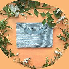 Tričká - Dámske tričko s mašľou - 13323781_