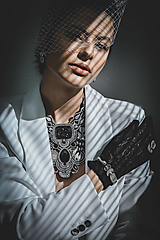 Náramky - Šujtášový náramok Marlene - 13323647_