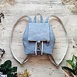 Batohy - Ruksak CANDY backpack - svetlo modrá - 13323880_