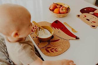 Detské doplnky - Korkové prestieranie LÍŠKA - 13322202_