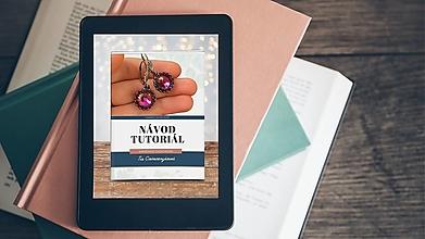 Návody a literatúra - PDF online návod na obšité náušnice Swarovski rivolku - 13322455_