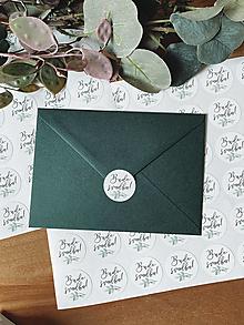 Papiernictvo - Vintage Nálepka Bude svadba 4 - 20ks - 13324671_