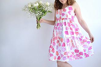 Šaty - Kvetinový záhon na šatách - 13327169_