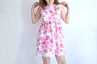 Šaty - Kvetinový záhon na šatách - 13327230_