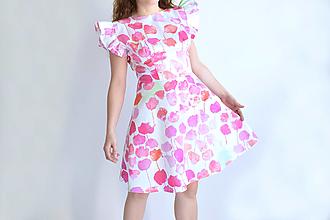 Šaty - Kvetinový záhon na šatách - 13327260_