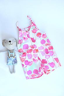 Detské oblečenie - Kvetinový záhon na overale - 13327627_