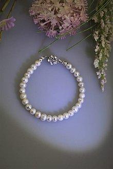 Náramky - pravé perly náramok luxusný - 13327387_