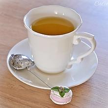 Pomôcky - Lyžička (sitko na sypaný čaj) s makrónkami - drobné darčeky - 13326103_