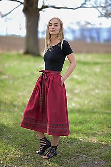 Sukne - sukňa Marína - 13327580_