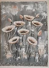 Obrazy - Acrylic Flower painting, 30x40cm - 13324910_