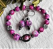 Sady šperkov - Kontrasty-  mramor - 13328922_