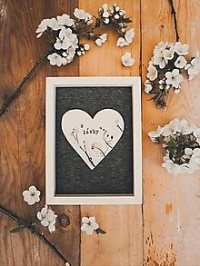 Dekorácie - Z lásky - 13329442_