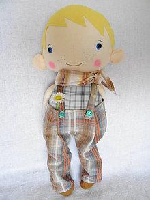Hračky - Riki - bábika chlapec - 13331461_