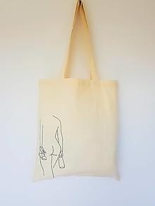 Nákupné tašky - •ručne maľovaná plátená taška - Freedom• - 13328917_