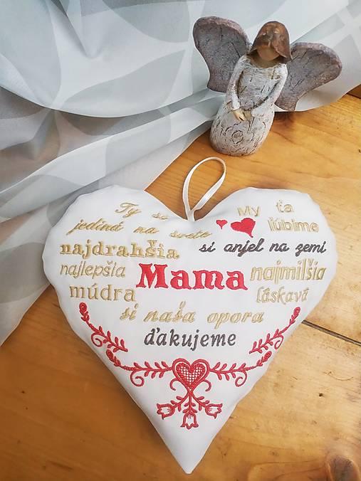 Srdiečko pre mamičku