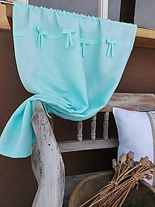 Úžitkový textil - Ľanový záves Fairy Tale - 13331035_