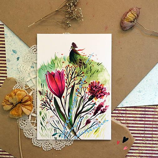 Kvetinové ráno/ reprodukcie ilustrácií