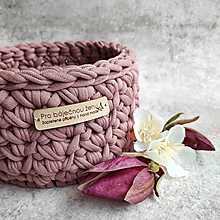 Košíky - Magnolia | malý košík pro báječnou ženu - 13333698_
