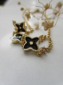 Náhrdelníky - a.lhambra náhrdelník (Zlatá) - 13335130_