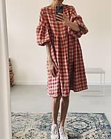 Šaty - Ľanové šaty OLIVIA (midi) - 13332624_