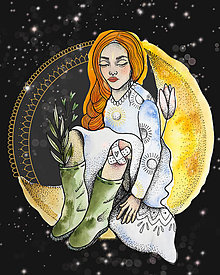 Grafika - Art print Tisíc vesmírov - grafika - 13335220_