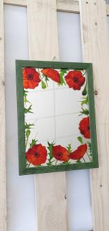 Zrkadlá - Zrkadlo maľované - 13333054_