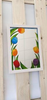Zrkadlá - Zrkadlo maľované - 13333056_
