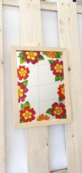 Zrkadlá - Zrkadlo maľované - 13333060_