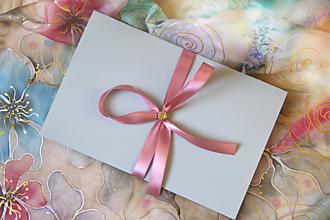Papiernictvo - Darčekové balenie na hodváb... - 13334611_