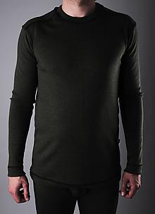 Oblečenie - Rybárik pánsky merino nátelník - 13333466_