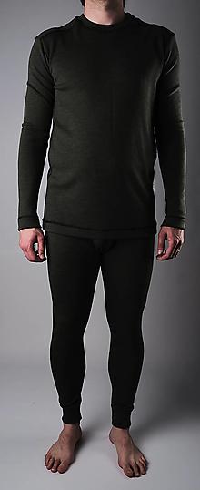 Oblečenie - Rybárik pánsky merino komplet - 13333571_