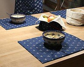 Úžitkový textil - Modrotlačové prestieranie3 set 4ks - 13333285_