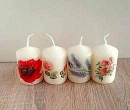 Svietidlá a sviečky - dekoračné sviečky-darček k objednávke nad 10e - 13335586_