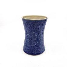 Dekorácie - Nádoba modrá s dekorom - 13332052_