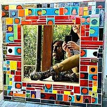 Zrkadlá - Zrkadlo recykled - 13338876_