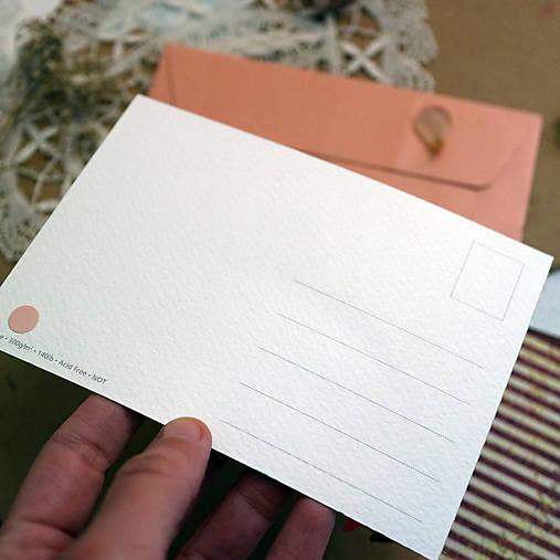 Pošlem ti pohľadnicu IV./ originál akvarelový obrázok