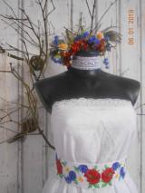 Sukne - Sukňa z madeiry a richelieu bordúrou - 13338100_