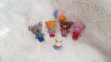 Hračky - Mačiatko Mňau a kamaráti - 13339473_