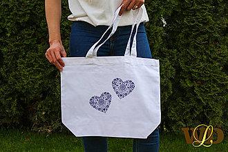 Nákupné tašky - Nákupná taška FOLK - 13338424_