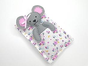 Hračky - Spinkaj sladko... (myška) - 13337736_