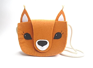Detské tašky - Moje obľúbené zvieratko (Veverička) - 13337760_