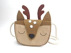 Detské tašky - Moje obľúbené zvieratko (Jelenček) - 13337776_
