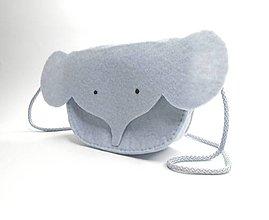 Detské tašky - Moje obľúbené zvieratko (Sloník) - 13337779_
