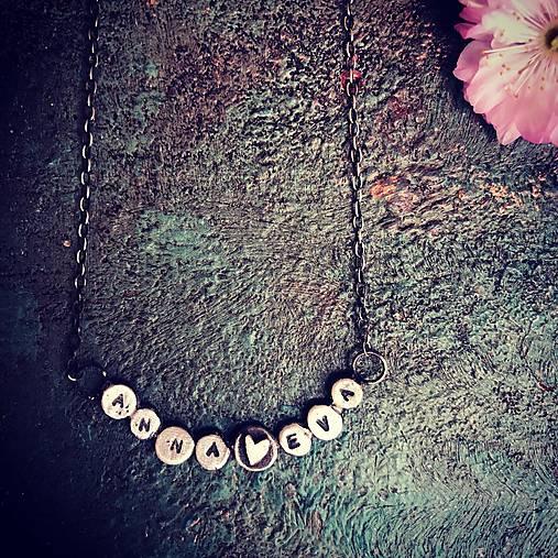 Strieborný náhrdelník - Lásočky