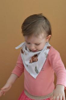 Detské doplnky - Detská šatka na hlavu i na krk- pre chlapca i dievča - 13336029_