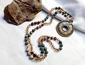 Náhrdelníky - Boho náhrdelník - 13335856_