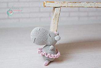 Hračky - Hrošia baletka v obojstrannom vrecúšku - 13338675_