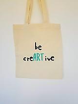 Nákupné tašky - •ručne maľovaná plátená taška - ART• - 13339145_
