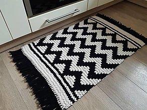 Úžitkový textil - Koberec s moderným vzorom - 13337068_