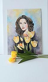 Obrazy - Tessa, akryl, 30 x 40 cm - 13340518_